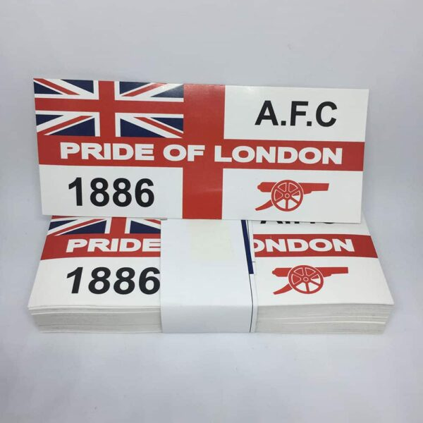 Pride of London 1886: Arsenal FC Stickers