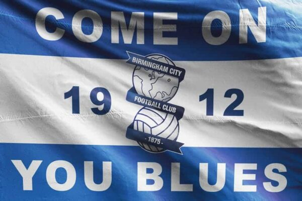 Come on You Blues: Birmingham City FC Flag