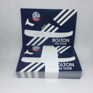 Bolton on Tour with Adidas Sneakers: Bolton Wanderers FC Stickers