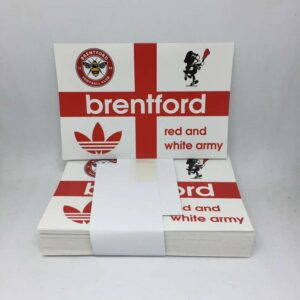 Red and White Army: Brentford FC Stickers
