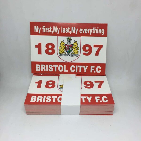 My First, My Last, My Everything: Bristol City FC Stickers