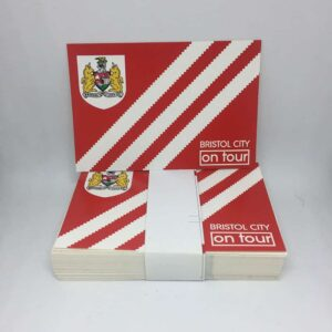 Bristol City on Tour: Bristol City FC Stickers
