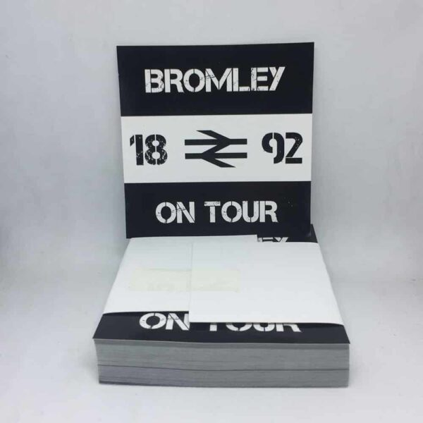Bromley 1892 On Tour Stickers