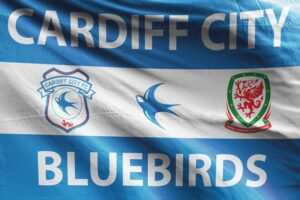 Bluebirds: Cardiff City FC Flag