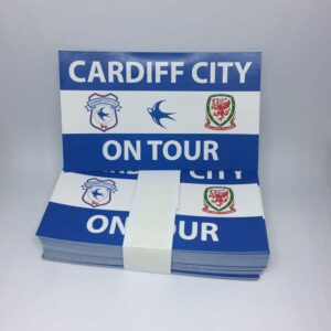 Cardiff City on Tour: Cardiff City FC Stickers