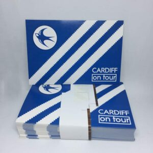 Cardiff Three Stripes on Tour: Cardiff City FC Stickers