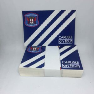 Carlisle United FC On Tour Stickers