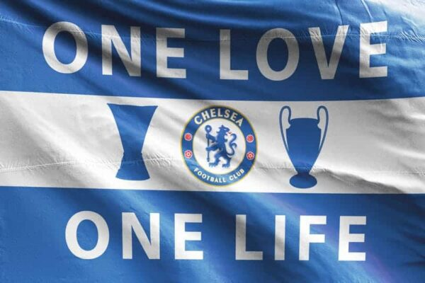 One Love One Life: Chelsea FC Flag