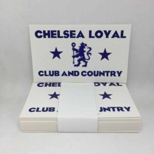Chelsea Loyal Club and Country Stickers