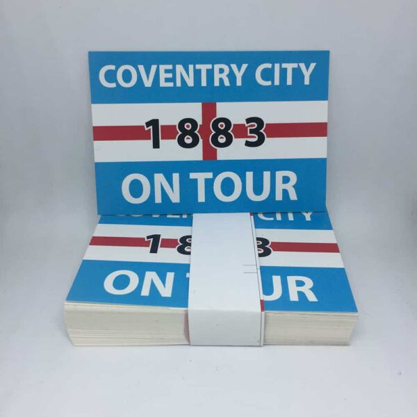 Coventry on Tour: Coventry City FC Stickers