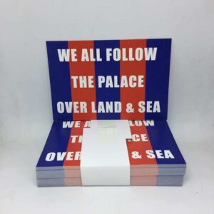 We All Follow the Palace over Land and Sea: Crystal Palace FC Stickers