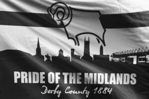 Pride of the Midlands: Derby County FC Flag