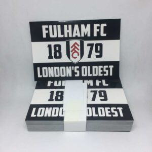 London's Oldest: Fulham FC Stickers