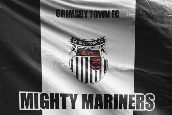 Mighty Marines: Grimsby Town FC Flag