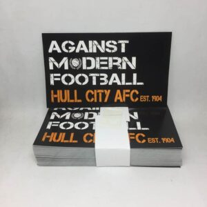 Against Modern Football: Hull City AFC Stickers