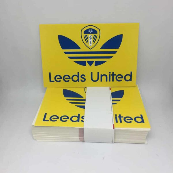 Leeds United FC Stickers