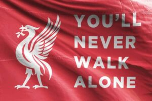 You'll Never Walk Alone: Liverpool FC Flag