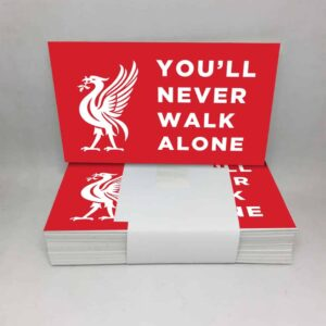 You'll Never Walk Alone: Liverpool FC Stickers