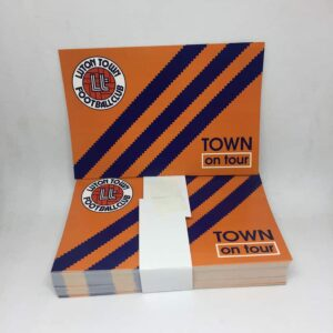 Town on Tour: Luton Town FC Stickers