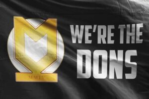 We're the Dons: MK Dons FC Flag