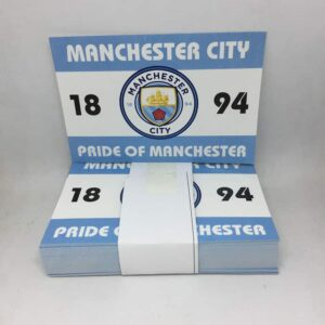 Pride of Manchester 1894: Manchester City FC Stickers