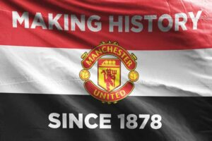 Making History Since 1878: Manchester United FC Flag
