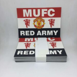 MUFC Red Army: Manchester United FC Stickers