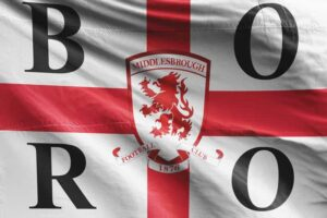 BORO: Middlesbrough FC Flag
