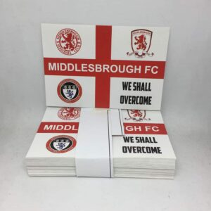 We Shall Overcome: Middlesbrough FC Stickers