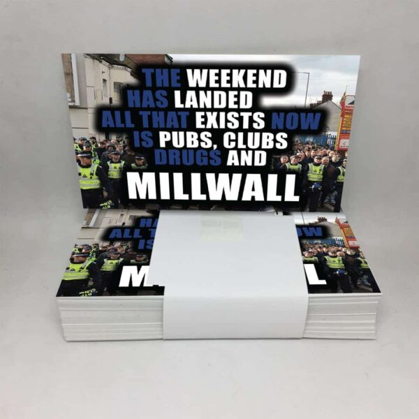 The Weekend Has Landed: Millwall FC Stickers