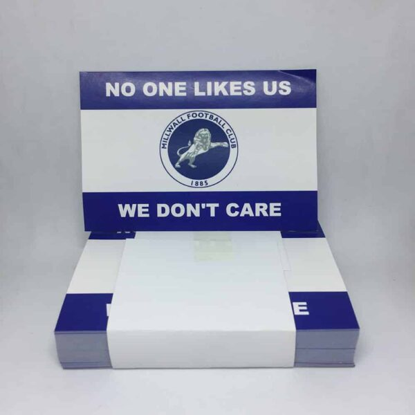 No One Likes Us, We Don't Care: Millwall FC Stickers
