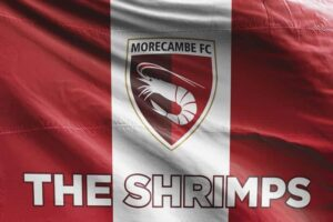 The Shrimps: Morecambe FC Flag