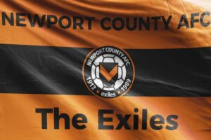 The Exiles: Newport County AFC Flag