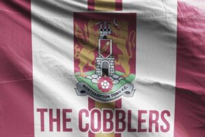 The Cobblers: Northampton Town FC Flag
