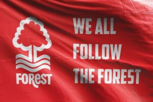 We All Follow the Forest: Nottingham Forest FC Flag