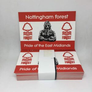 Pride of the East Midlands: Nottingham Forest FC Stickers