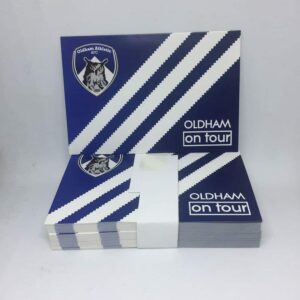 Oldham On Tour: Oldham Athletic AFC Stickers