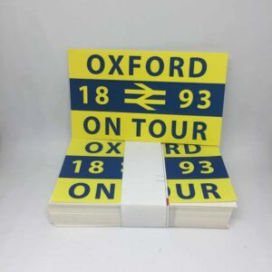 Oxford on Tour: Oxford United FC Stickers