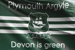 Devon Is Green: Plymouth Argyle FC Flag