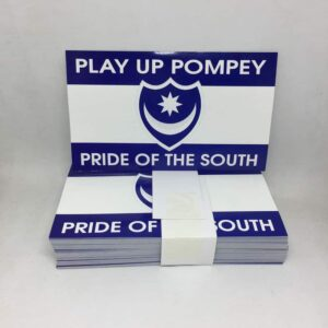 Play up Pompey, Pride of the South: Portsmouth FC Stickers