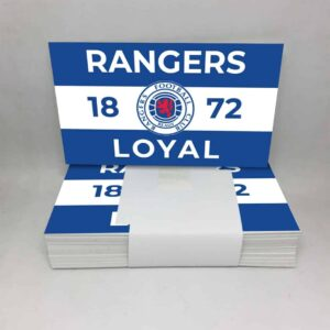 Rangers 1872 Loyal: Rangers FC Stickers