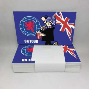 Rangers on Tour: Rangers FC Stickers