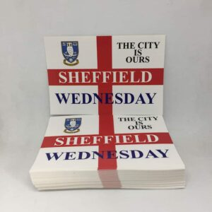 The City Is Ours: Sheffield Wednesday FC Stickers