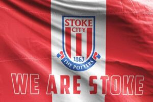 We Are Stoke: Stoke City FC Flag