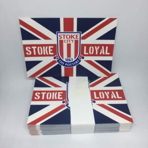 Stoke Loyal: Stoke City FC Union Jack Stickers