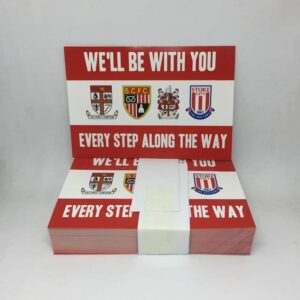 We'll Be with You: Stoke City FC Stickers