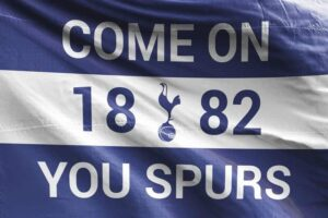 Come on You Spurs 1882: Tottenham Hotspur FC Flag