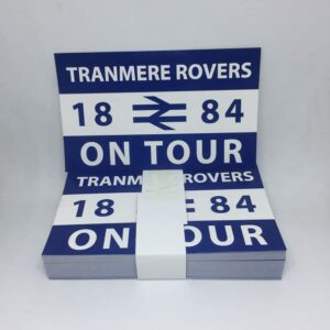 Tranmere Rovers On Tour Stickers