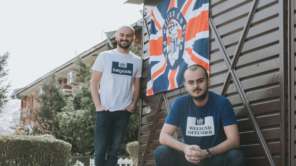 About Ultras Design - Our Team: Strahinja and Lazar