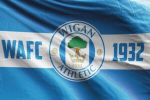 WAFC 1932: Wigan Athletic FC Flag